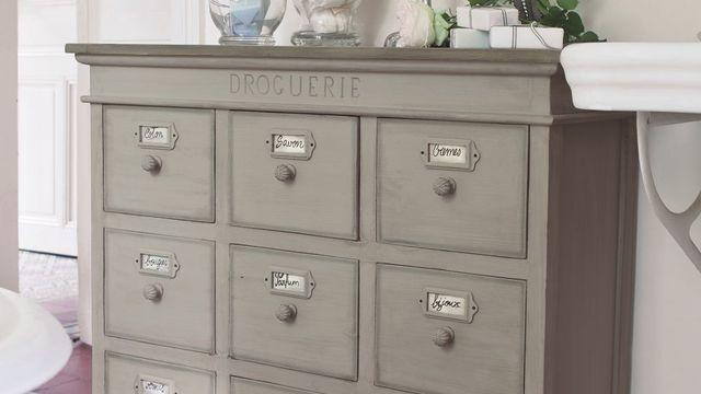 Peinture  relooker vos meubles en bois avec de la patine - peinture sur meuble bois