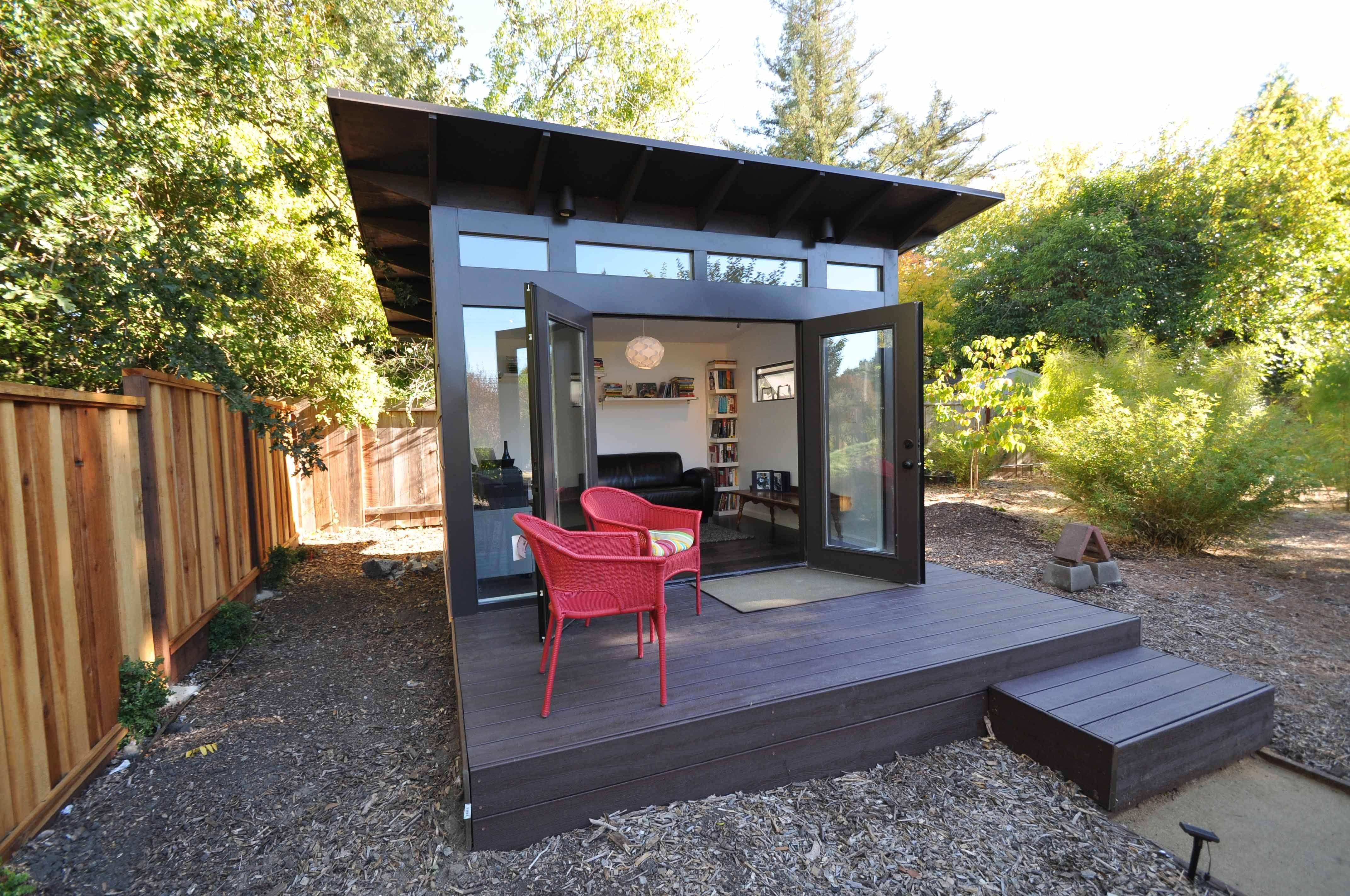 Studio Shed Photos - Modern, Prefab Backyard Studios & Home