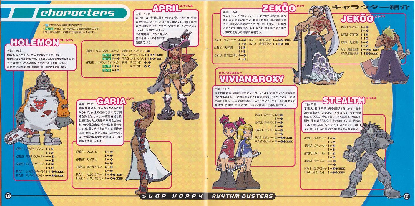 Slap Happy Rhythm Busters Character Design Diseno De Personajes