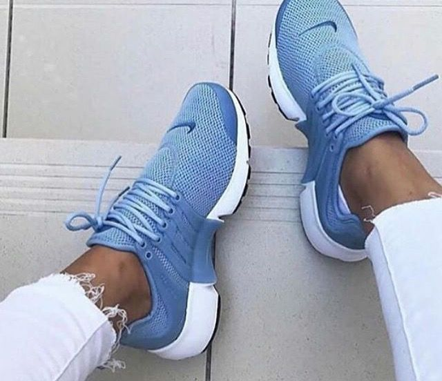 Nike air presto bleus (With images) | Casual