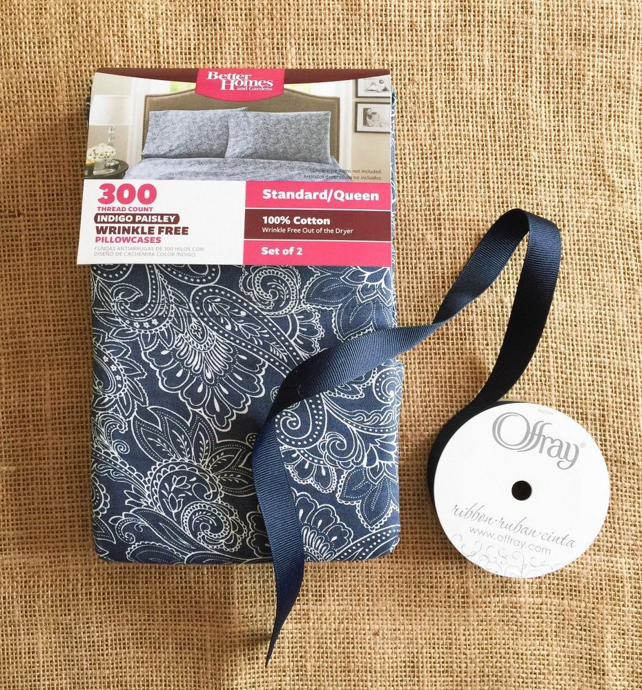 Walmart crafts and fabrics - Next Time You Re At Walmart Grab A 5 Pillow Case And Copy This Gorgeous Idea Fabric Craftssewing