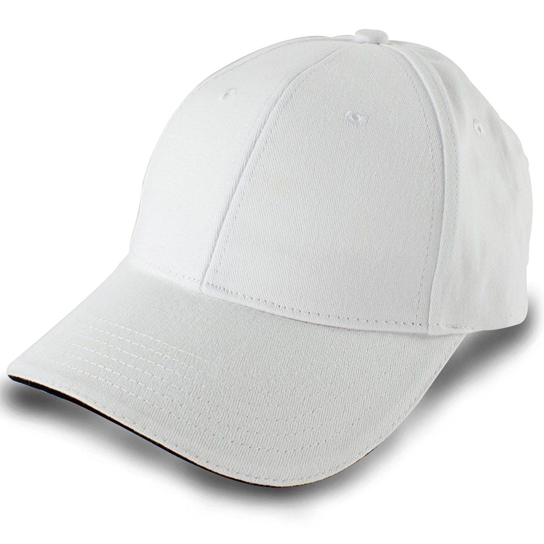 c2f3f56e92f Baseball Cap Unisex Cotton Cap Trucker Hat White Cap Sun Hat ...
