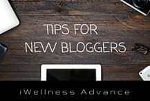 tips for new bloggers including website set up, things to do immediately, branding etc