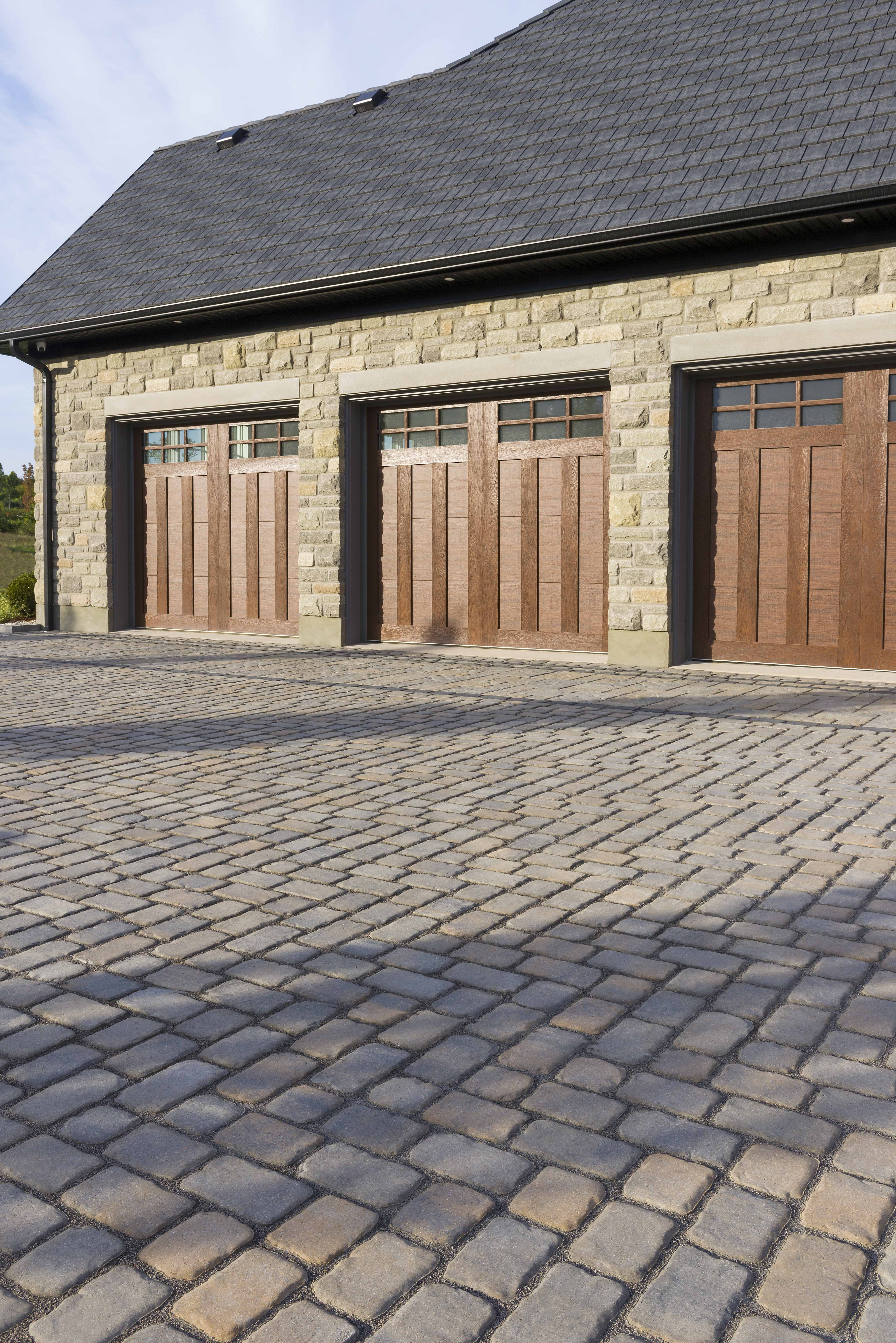 Driveway Landscaping Inspired By Montreal S Beautiful Century Old Streets Refine Your Backy Beautiful Outdoor Living Spaces Driveway Design Backyard Design