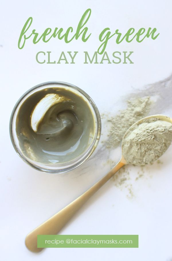 Pore Perfecting French Green Clay Mask DIY Recipe Get an easy nofrills french green clay mask recipe that is super simple to mix but effective on acneprone and aging skin...