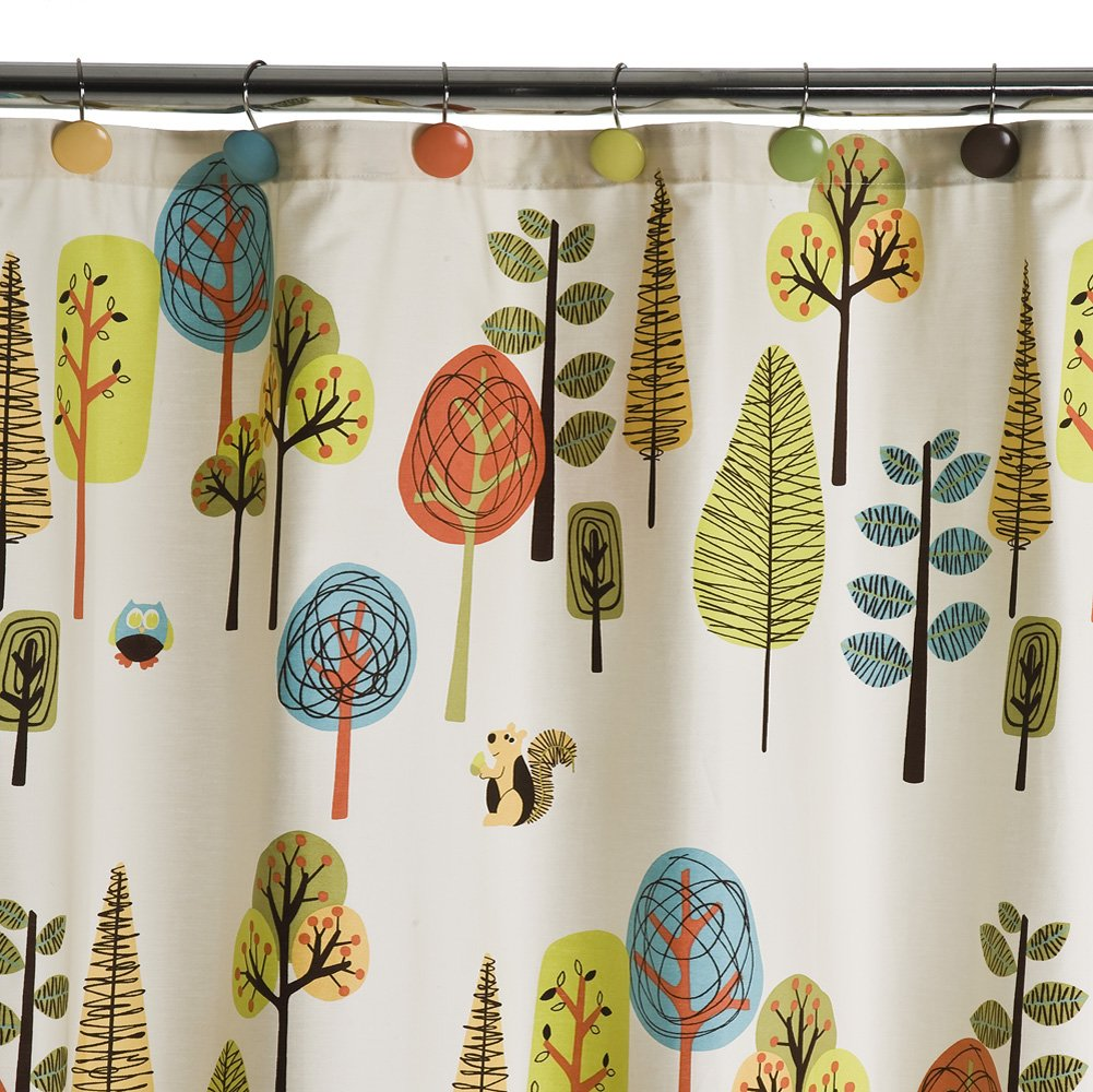 Boys Bathroom Decor Ideas Cool Shower Curtains Tree Shower Curtains Boys Bathroom Decor