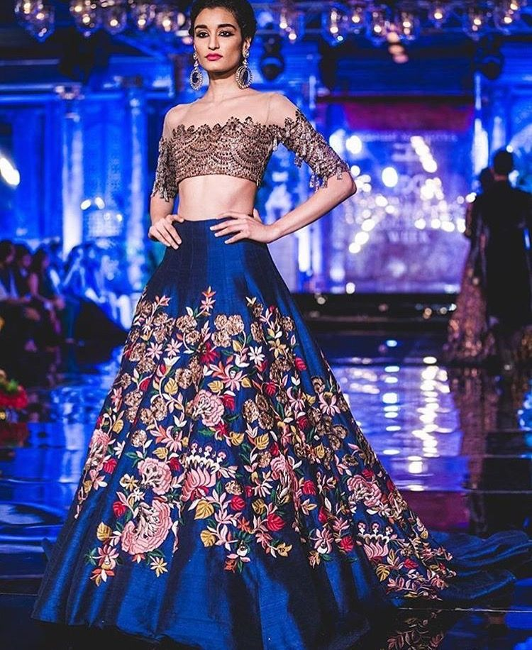 Pin by Keyna S. on Indian Attire | Pinterest | Manish malhotra ...