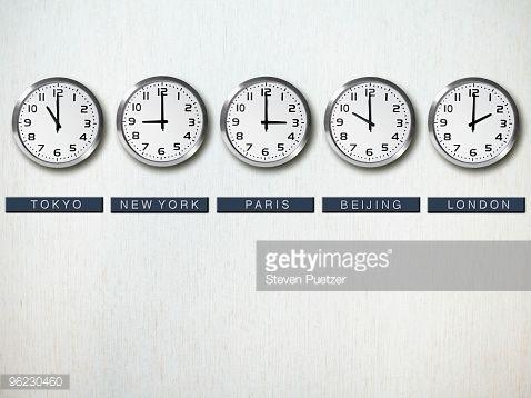 international time zone clocks