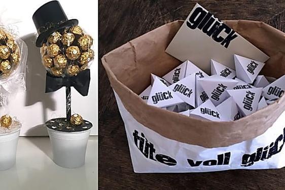 17 Ideen Fur Selbstgemachte Hochzeitsgeschenke Basteln Pinterest