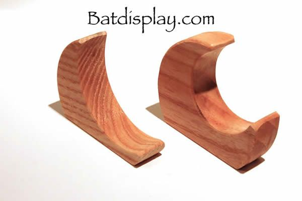 Baseball Bat Brackets Are A Great Simple Way To Mount Or Hang Your On The Wall These Hangers Made Of Ash Wood