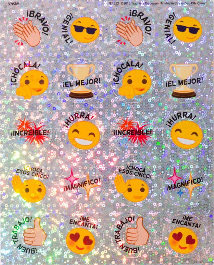 Emoji Spanish Stickers (100)