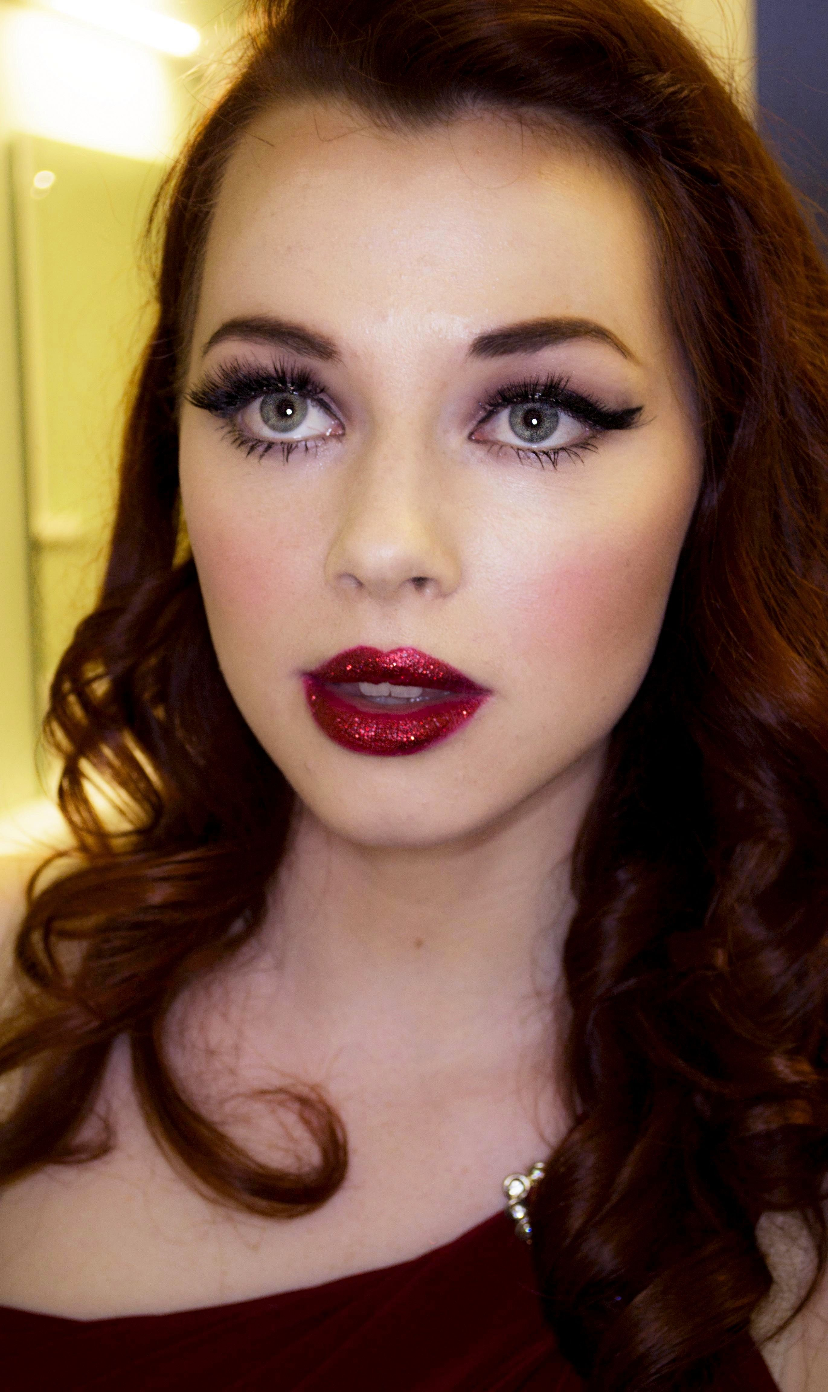 Glamour Makeup: Old Hollywood Glamour Makeup And Hair