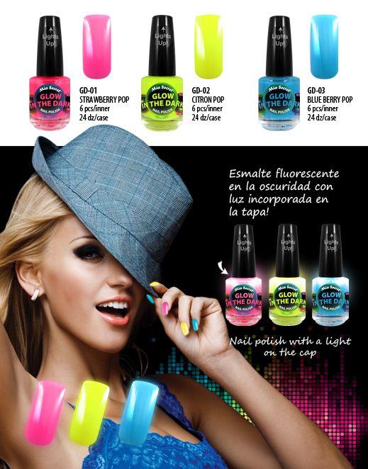 Mia Secret glow in the dark nail polish | Ready, set, GLOW! | Pinterest