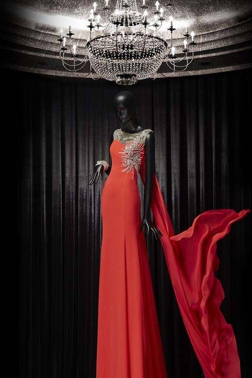 2016 Ve 2017 Için Butik Dayı Abiye Elbise Modelleri Kırmızı Türk