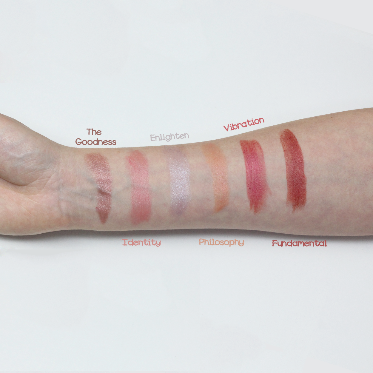 Trying some more swatches today! Here are our favourite