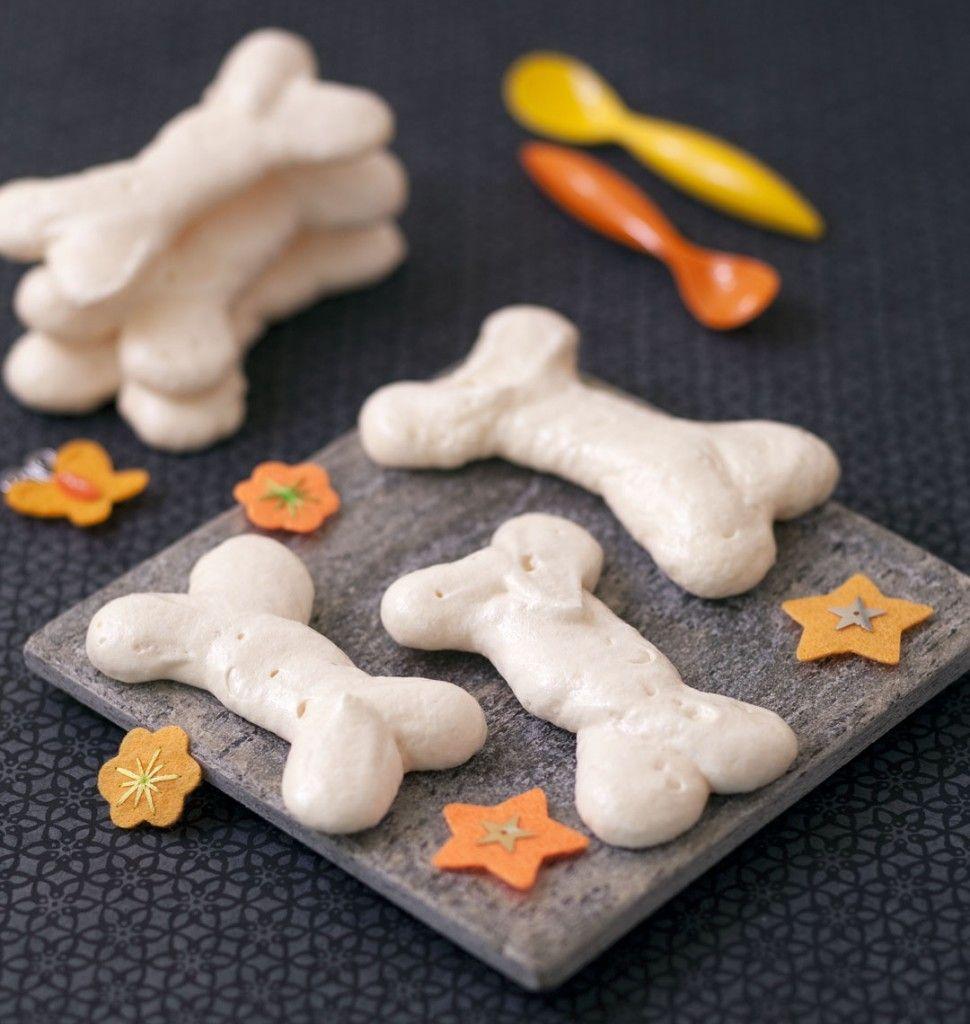 Os en meringue pour Halloween - Ôdélices : Recettes de cuisine faciles et originales !