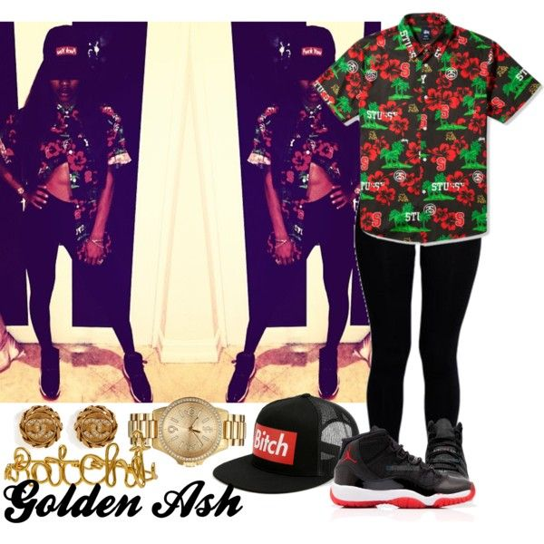 Ratchet Hawaiian, created by fashionsetstyler on Polyvore