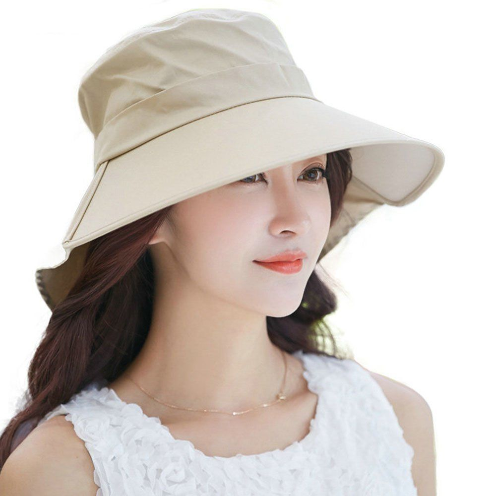 fff90b02c3977 Siggi Womens Summer Flap Cover Cap Cotton UPF 50 Sun Shade Hat with Neck  Cord