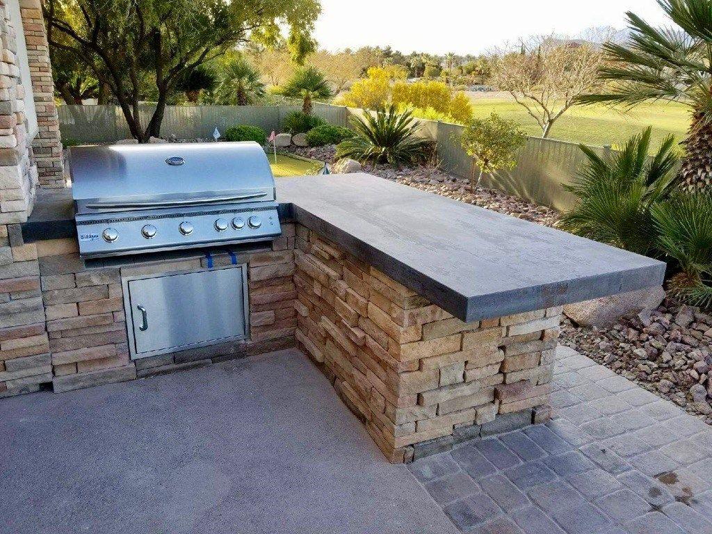 Of Las Vegas Nevada Outdoor Kitchen Island Build Outdoor Kitchen Outdoor Kitchen
