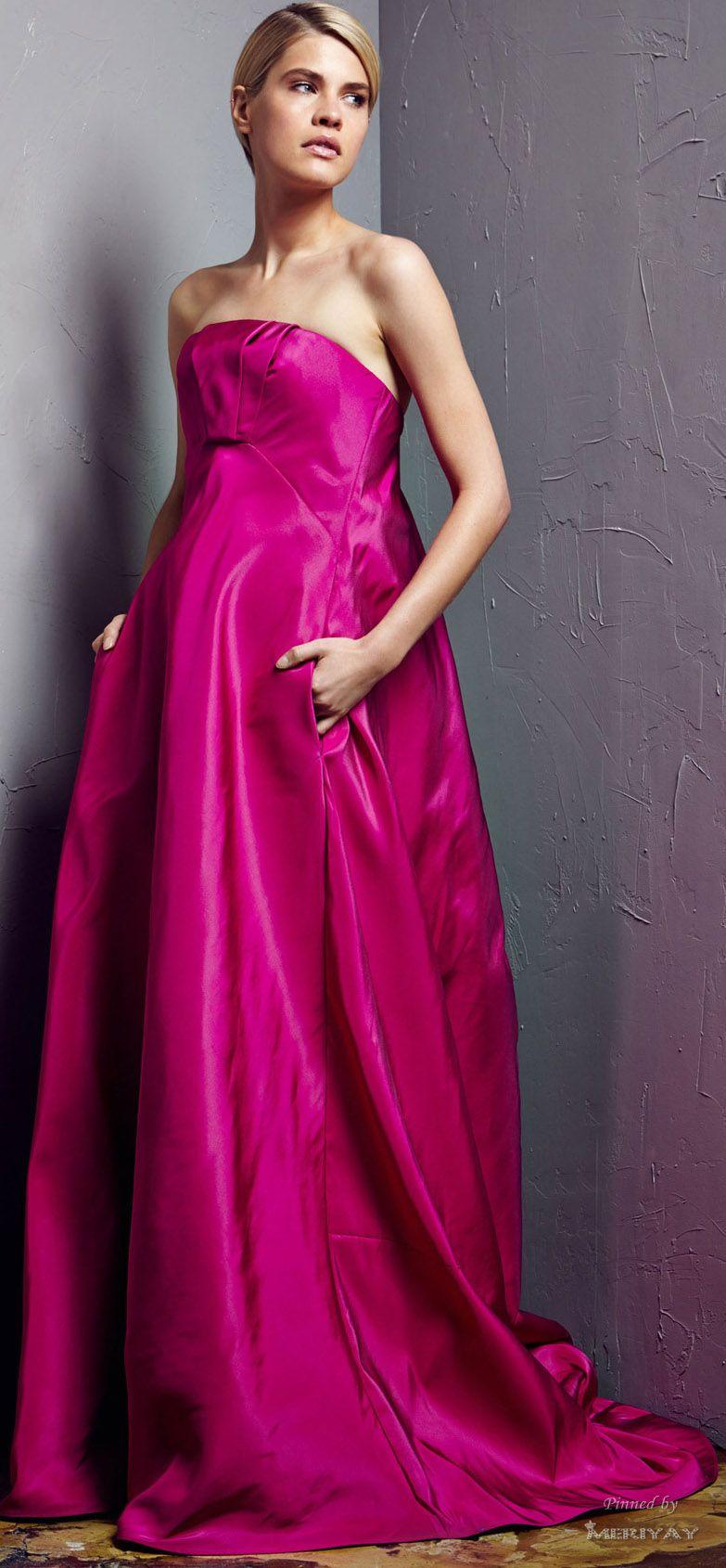 Pamella Roland Resort 2015. | gorgeous gowns, dresses | Pinterest