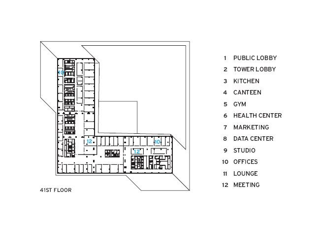 Cctv Headquarters How To Plan Office Building Rem Koolhaas
