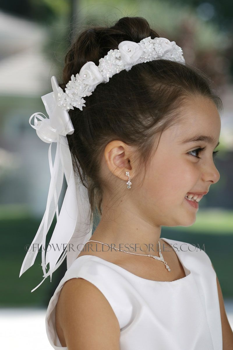 Tt514 Style 514 Head Wreath Crown In Choice Of Color Floral