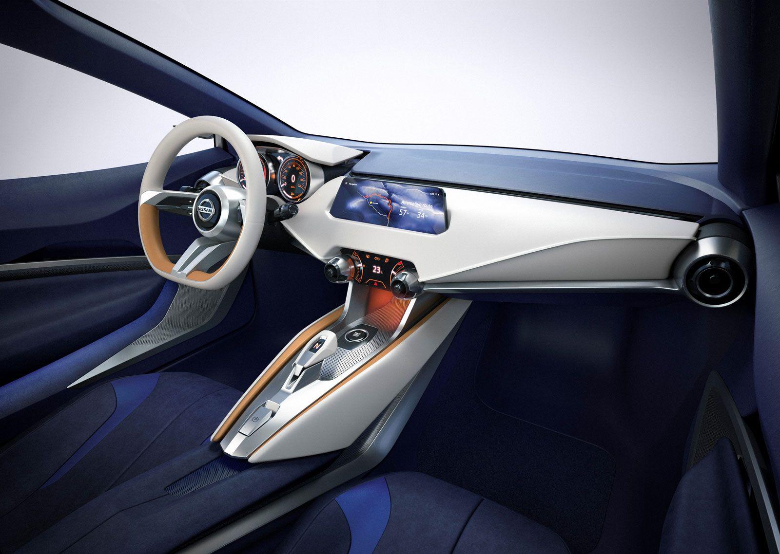 Nissan Sway Concept Car Interior Design Hatchback Cars