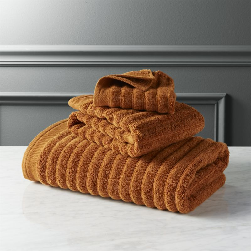 Channel Copper Cotton Bath Towel Cotton Bath Towels Decorative Bath Towels Bath Towels