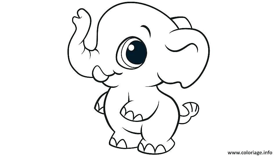 Coloriage Mignon A Imprimer Astradstinfo Coloriage Mignon Elephant