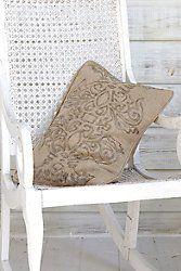 Radiance Beaded Pillow