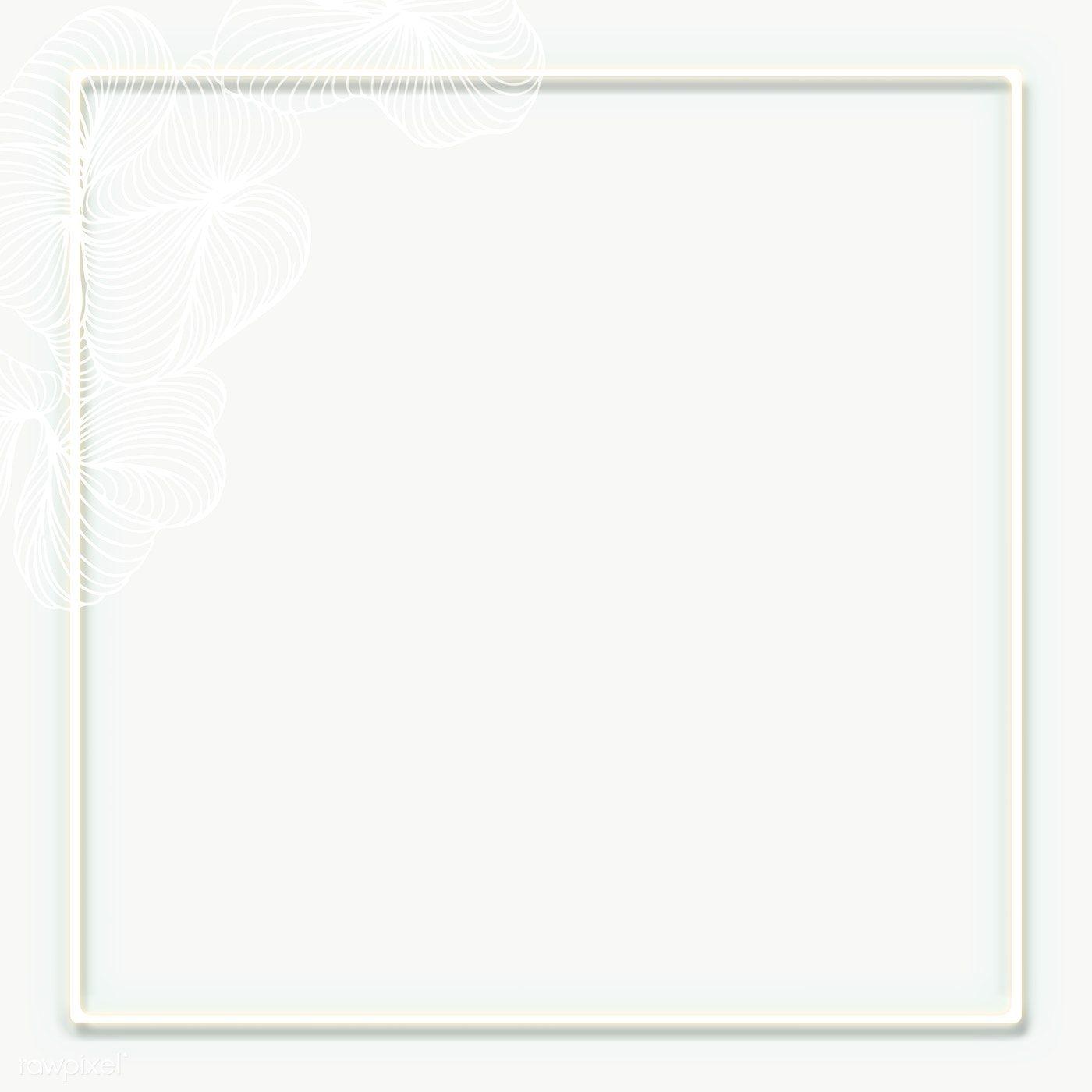 Bright White Square Frame Transparent Png Premium Image By Rawpixel Com Nunny White Square Frame Square Frames Gold Picture Frames
