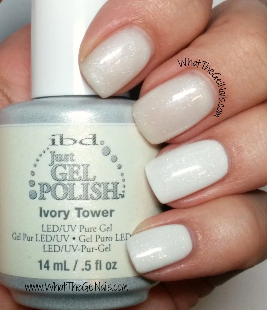 IBD Ivory Tower plus more IBD Just Gel polish glitters. | Gel polish ...