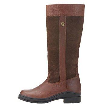 7349140b9c2 Ariat Windermere Womens Long Country Boot - Dark Brown | Ariat ...