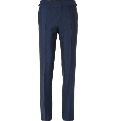 belted waist jeans - Blue Tom Ford Rc7z2OfQZF