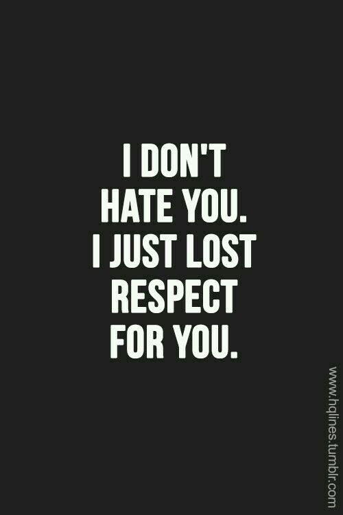 Don't hate you.