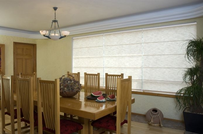 Cortina romana mirage by hunter douglas. #cortinas #persianas ...