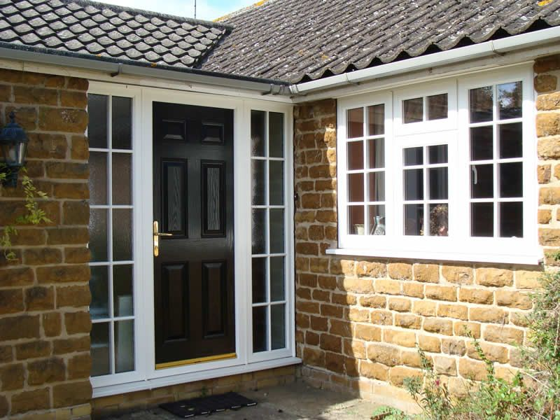 Georgian Upvc Front Door With Side Panels Google Search Front