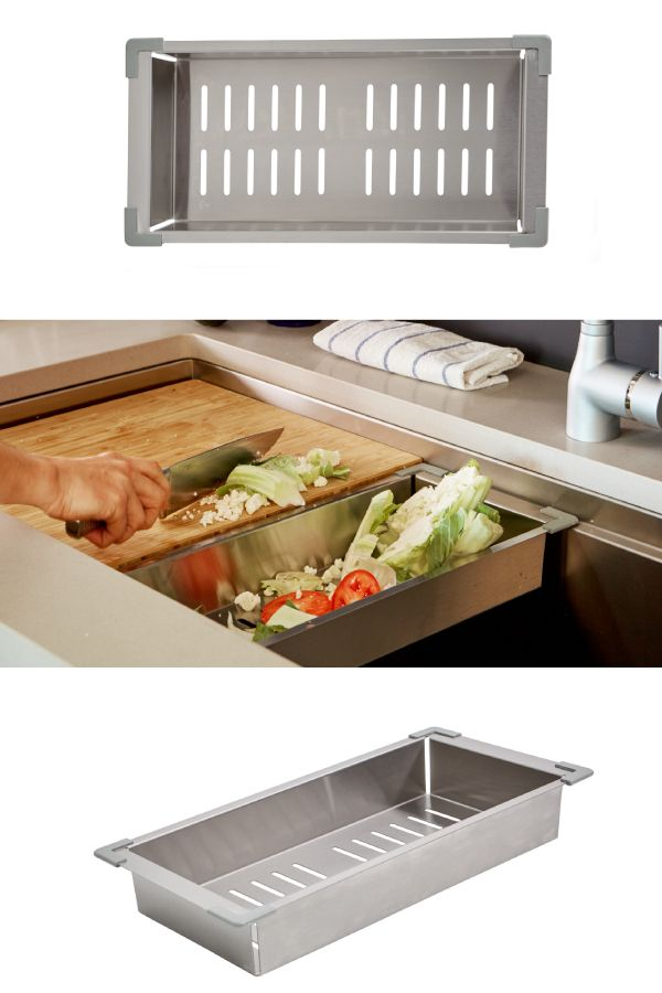 Ledge Accessories Stainless Steel Colander Col In 2020