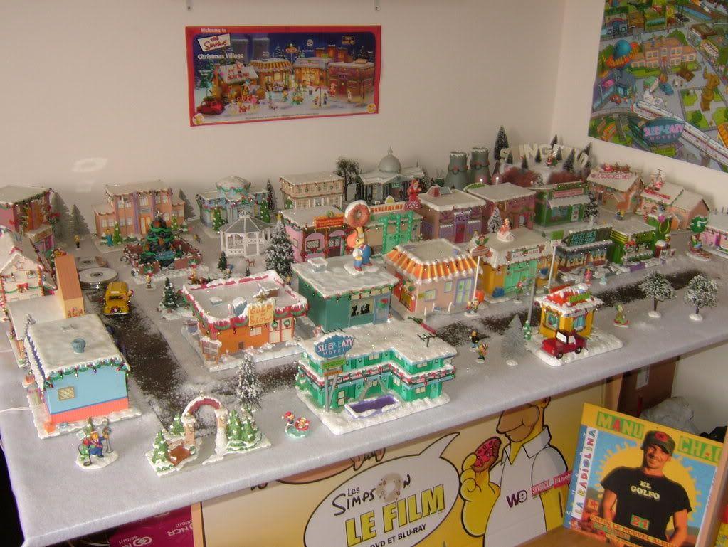 Simpsons Christmas Village.The Simpson S Christmas Village The Simpsons Grown Up