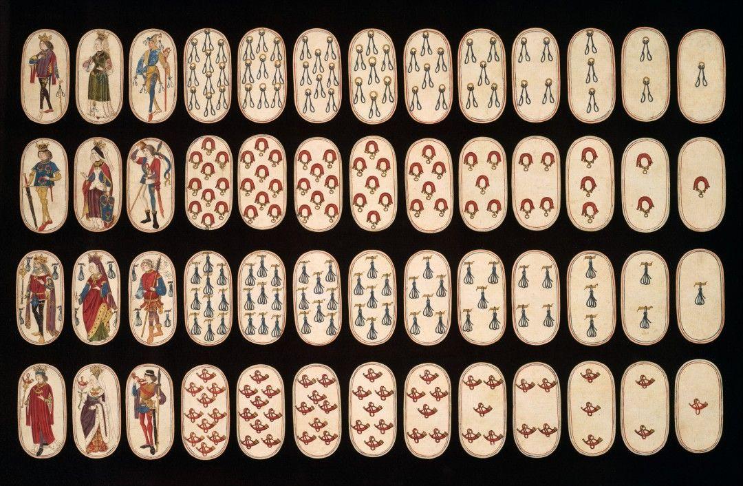 Un Jeu De Cartes A Jouer Du Xveme Siecle The Cloisters Playing