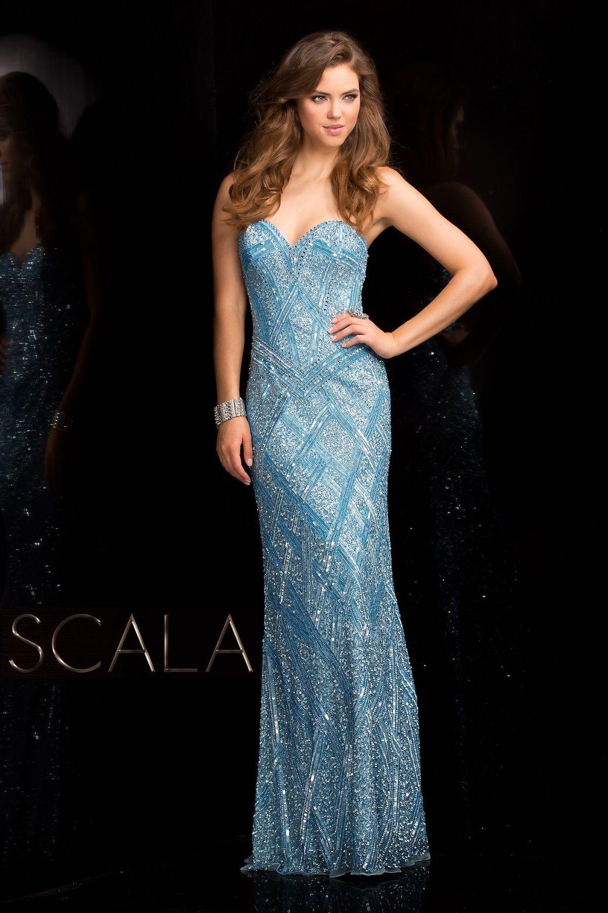 SCALA Spring 2017 style 47706 Sky. #scalausa #spring2017 #prom ...