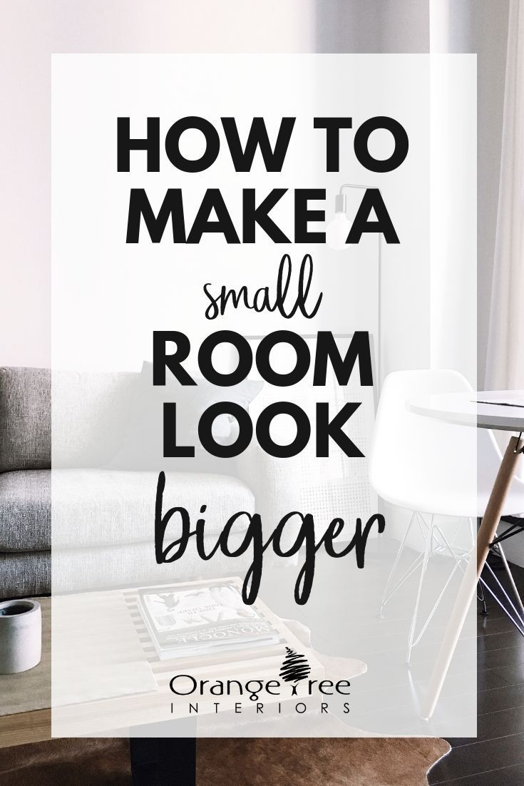 Top 30 [Easy] Tips to Make a Small Room Look Bigger 2017