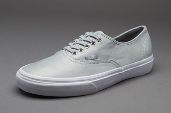 fc66eda804ccd3 Vans Authentic - Mens Select Footwear - (Aged Leather) Mirage Grey