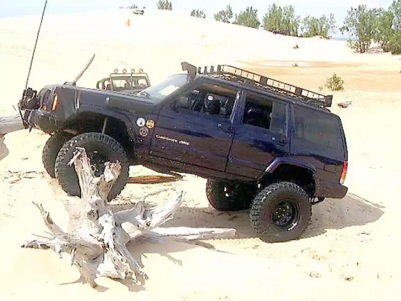 """6.5"""" lift Jeep xj, Jeep xj mods, Jeep cherokee"""