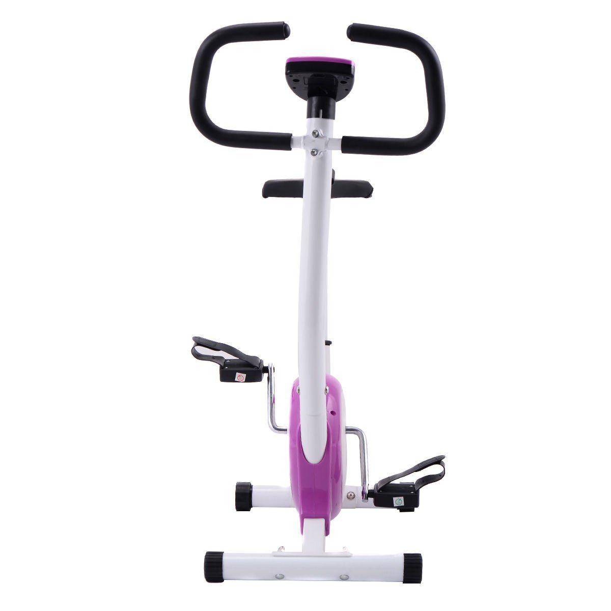 Goplus upright exercise bike stationary cycling