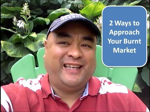 2 Ways To Get Sales From Your Burnt Market | Kenny Santos