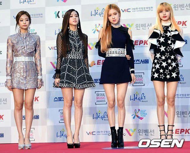 [170119] BLACKPINK @ 26th Seoul Music Awards - Red Carpet _ #BLACKPINK #BLΛƆKPIИK #Lisa #제니 #리사 #지수 #로제 #붐바야 #휘파람 #김제니 #블랙핑크