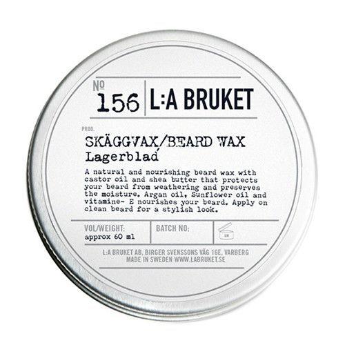No. 156 Laurel Leaf Beard Wax by L:A Bruket