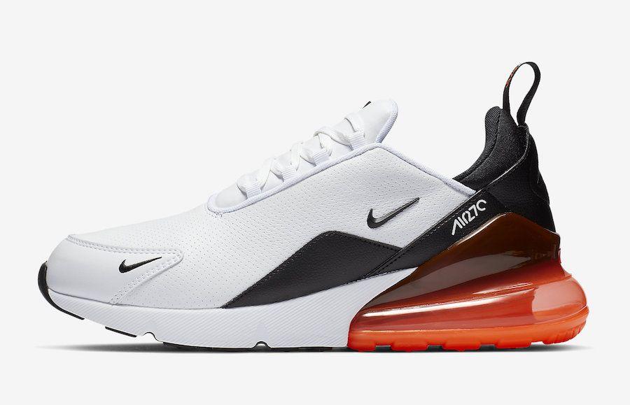 Nike Air Max 270 Premium Leather BQ6171 001 BQ6171 100
