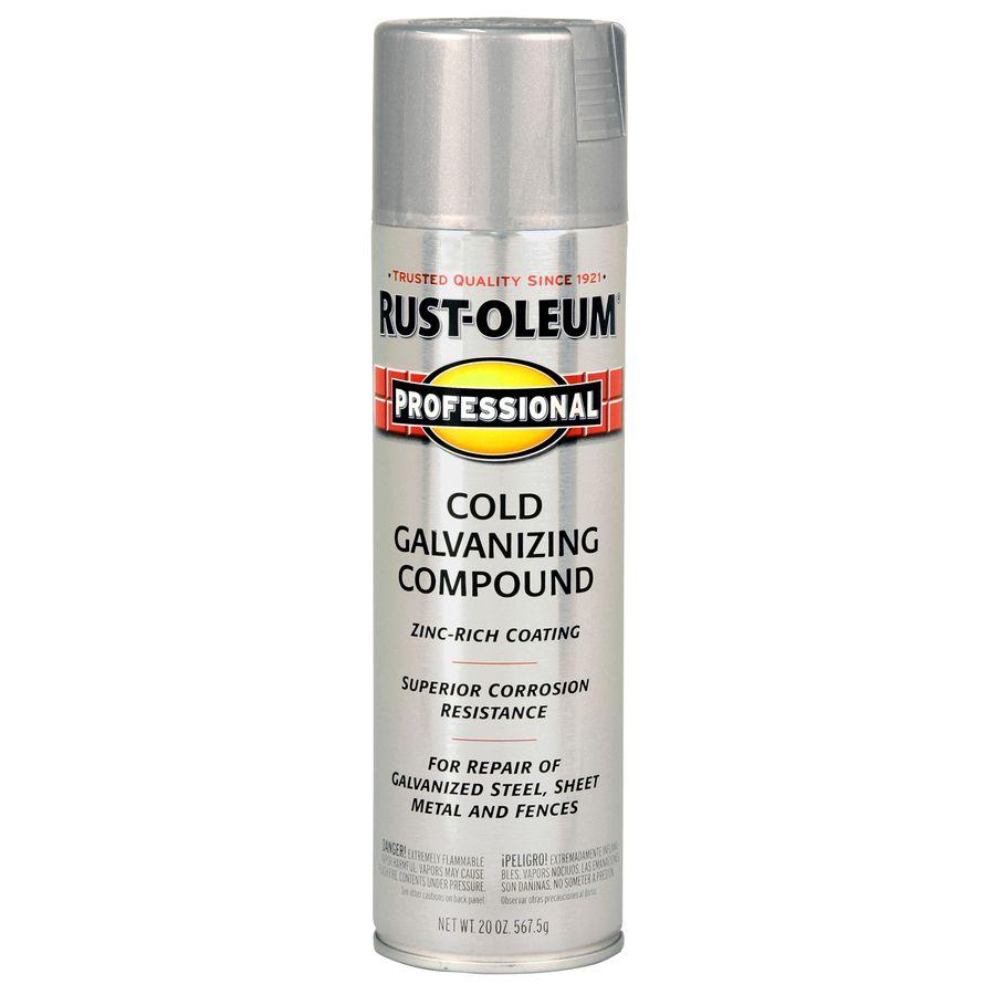 Rust-Oleum Professional Silver Rust Resistant Enamel Spray Paint